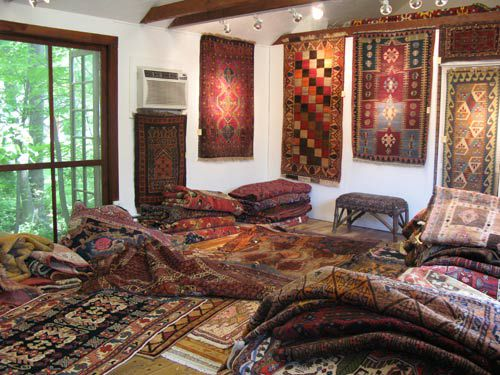 No Self Respecting Bohemian Can Decorate His Crib Without A Rug From An Exotic Destination Anatolia Tribal Rugs Weavings Get Underfoot In Woodstock Ny