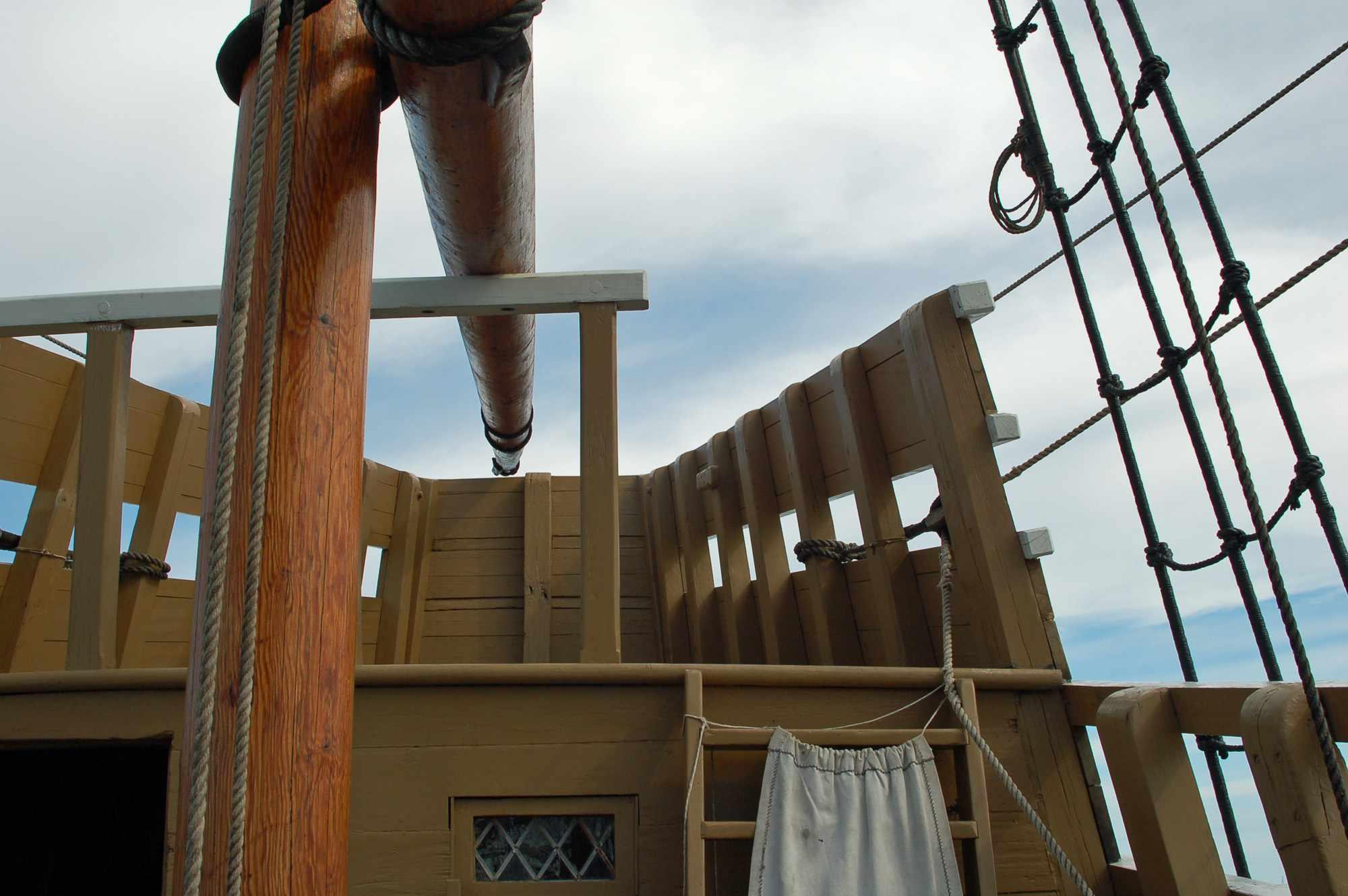 Mayflower II - Upper Deck