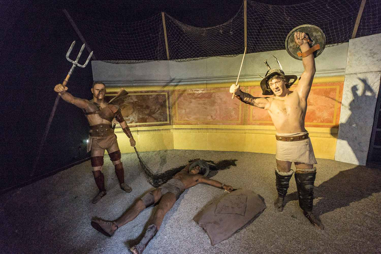 gladiator museum pictur