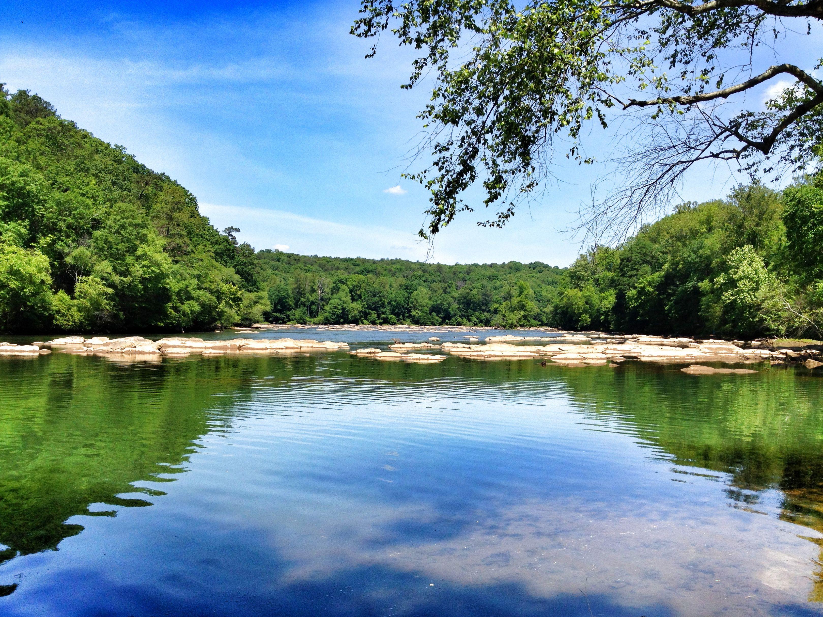 Chattahoochee River at East Palisades, Chattahoochee River National Recreation Area, Atlanta