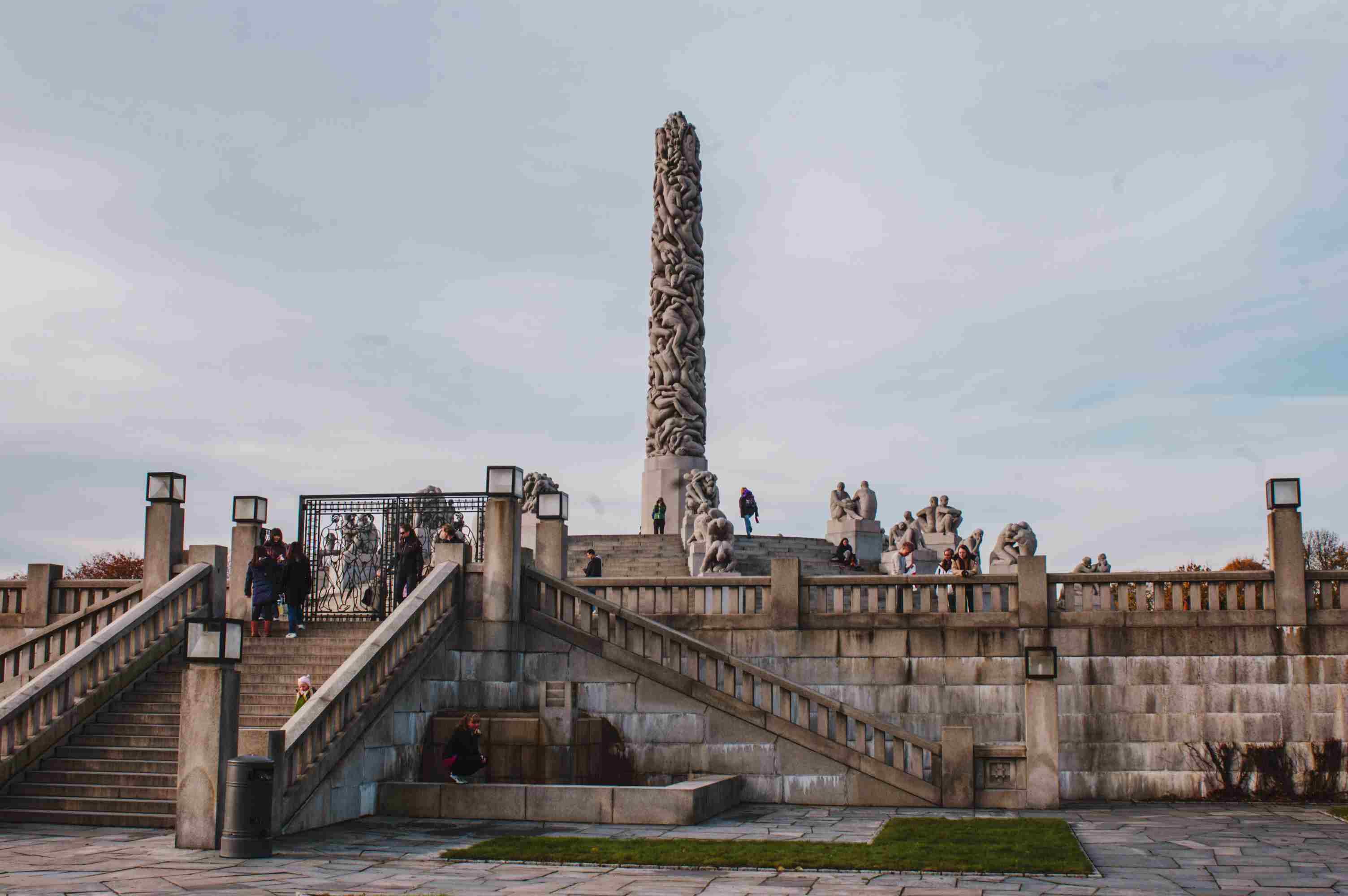 Sculpture park in Oslo