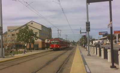 La Mesa Spring Street trolley station