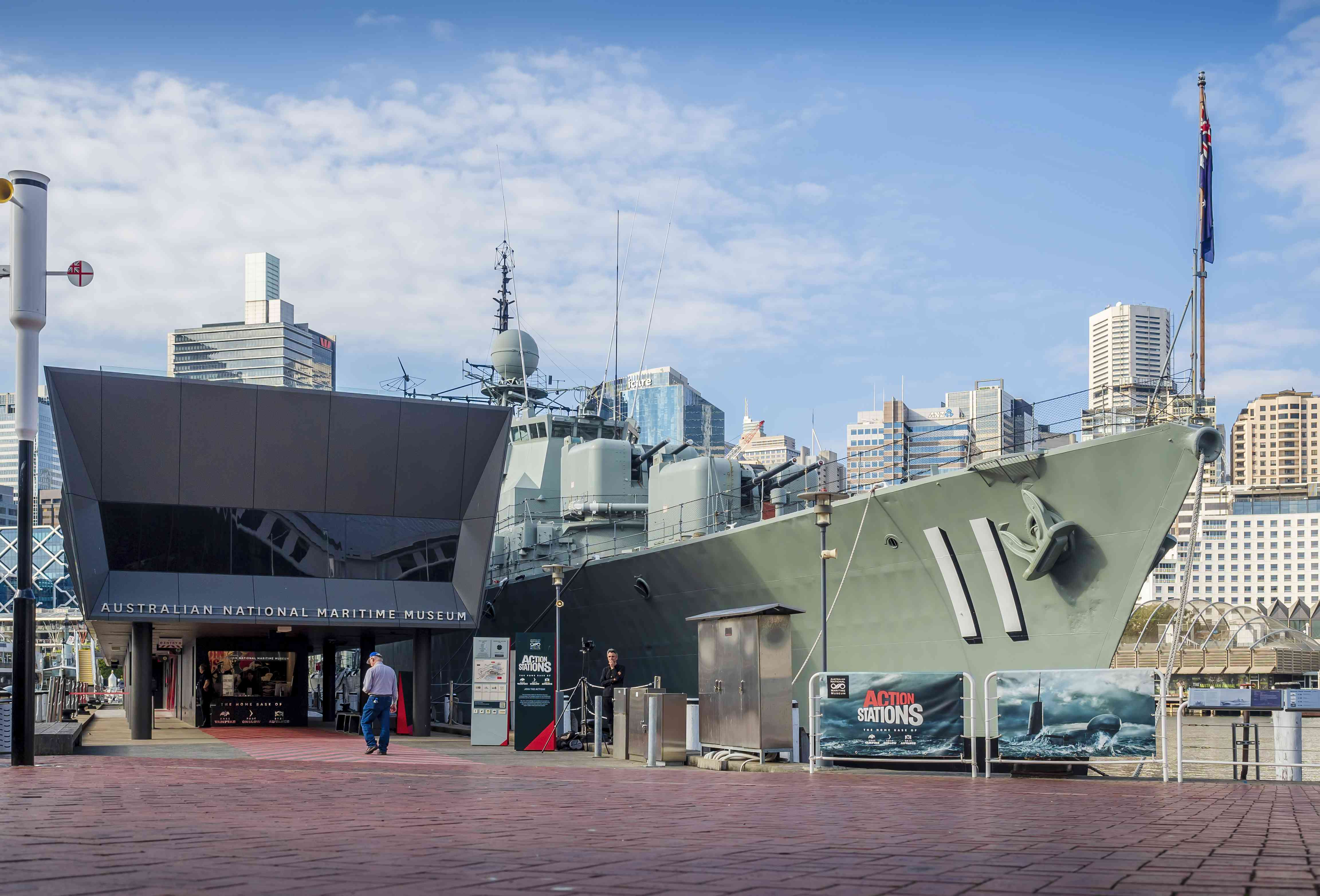 At the Australian National Maritime Museum