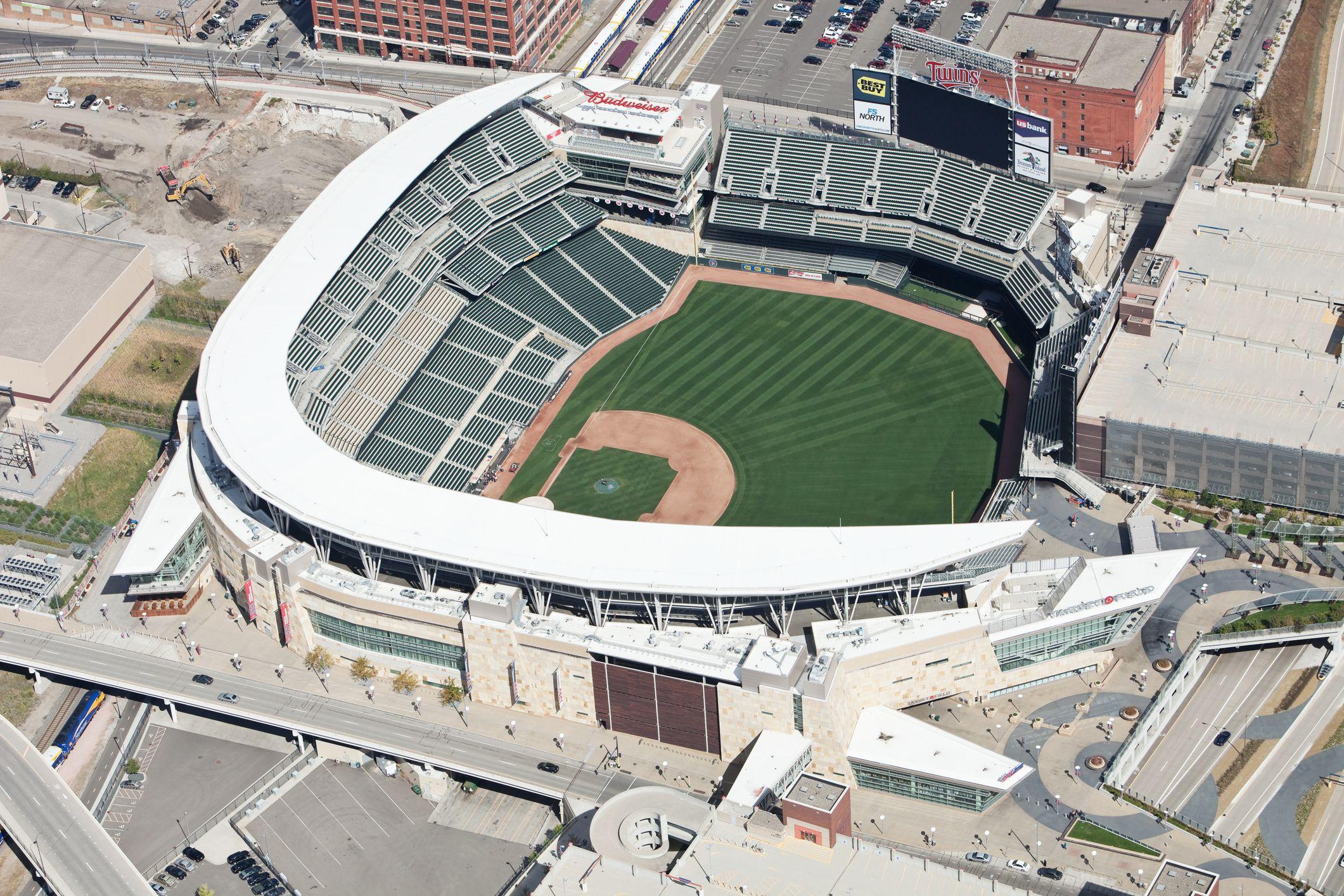 Target Field in Minneapolis.