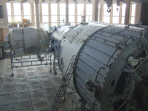 Star City Tank Used for Cosmonaut Weightlessness Training near Moscow
