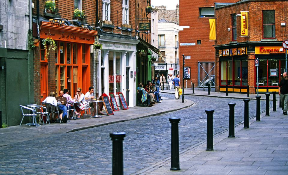 Essex Street in Dublin