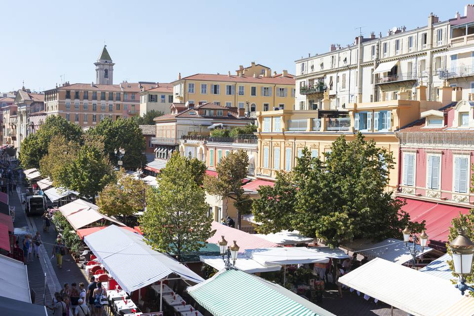 Market in old town, Nice, France