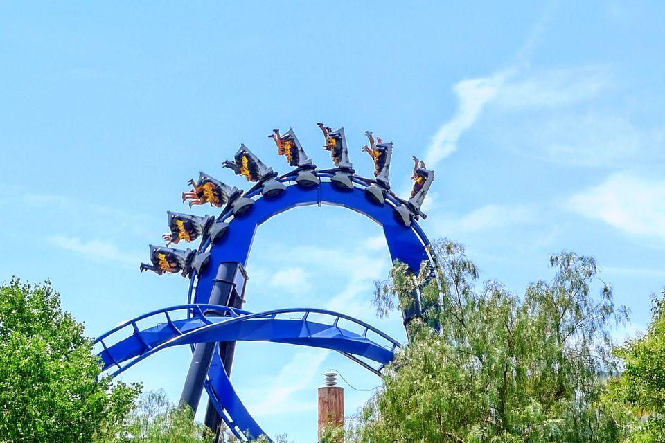 Moderate Thrill Rides At Magic Mountain