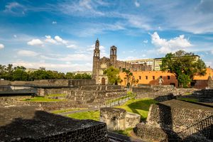 Three Cultures Square at Tlatelolco