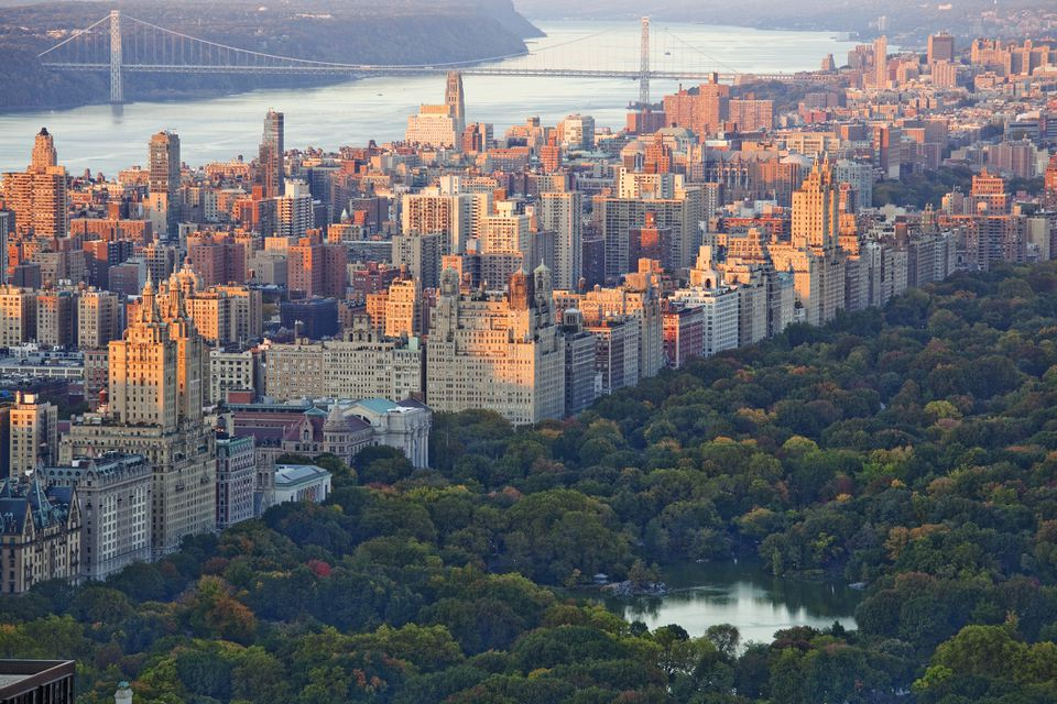 Central Park, Upper West Side, New York City view