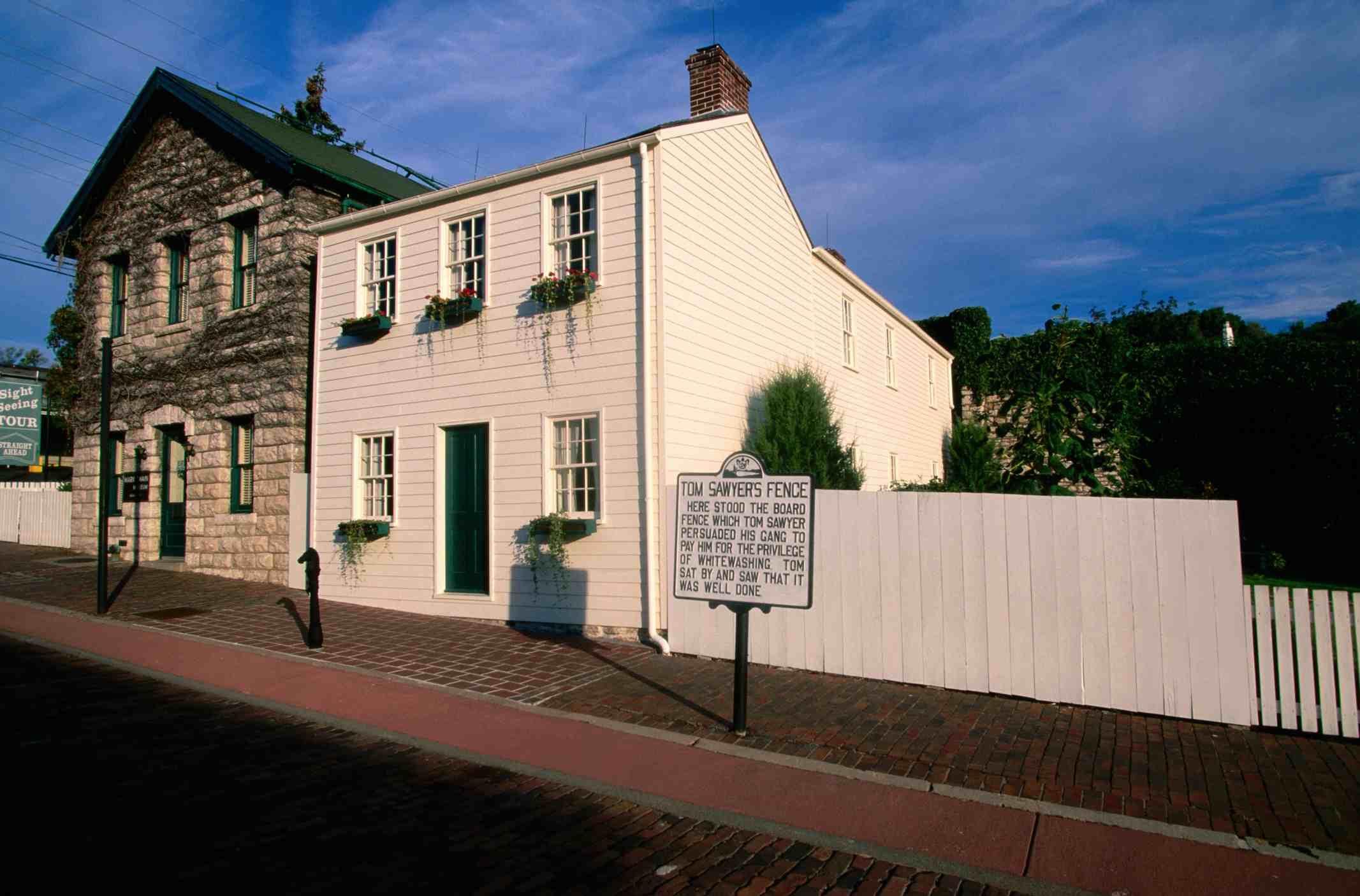 Mark Twain's Boyhood Home in Hannibal