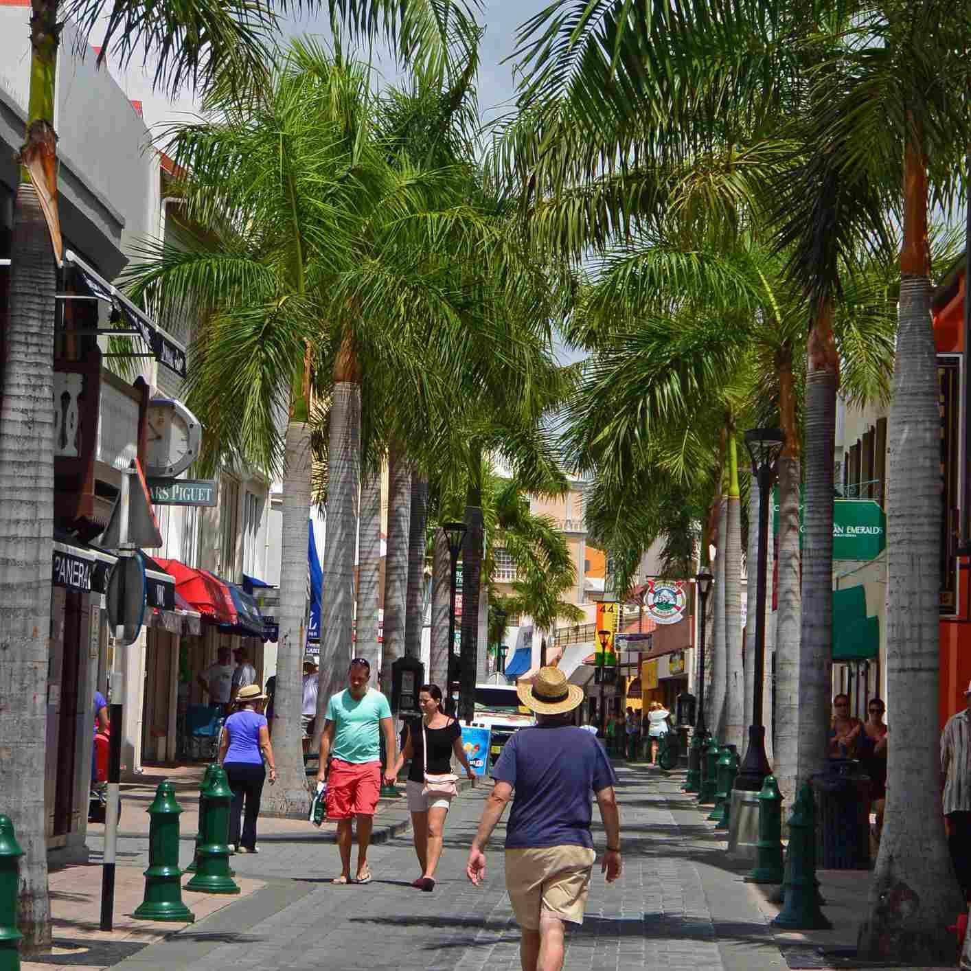 Front Street, Philipsburg, St. Maarten