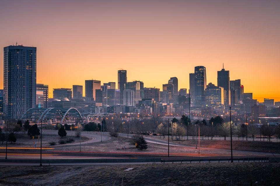Denver, el horizonte de Colorado