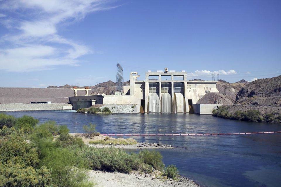 Davis Dam in Laughlin, Nevada