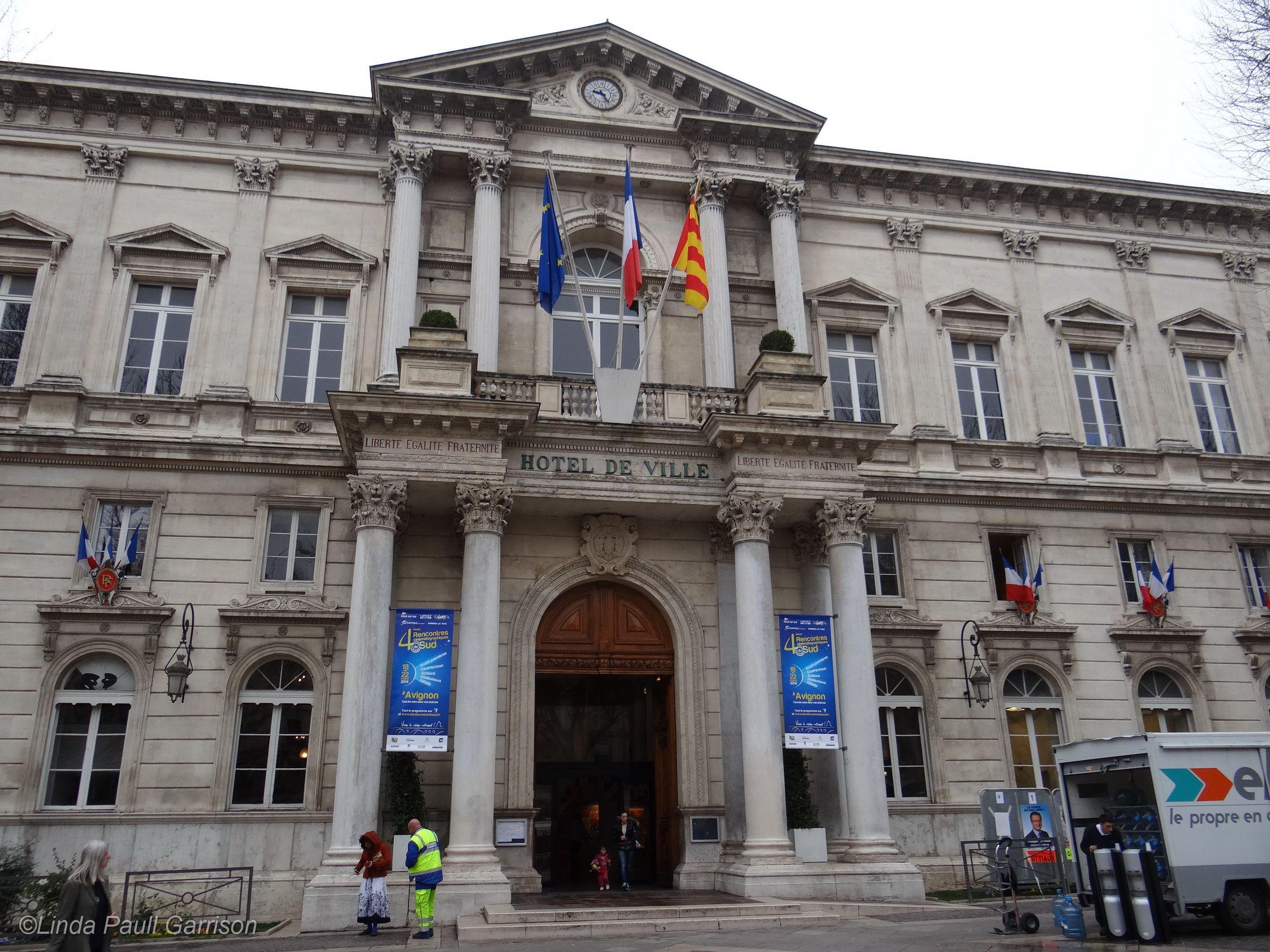 Avignon Hotel de Ville