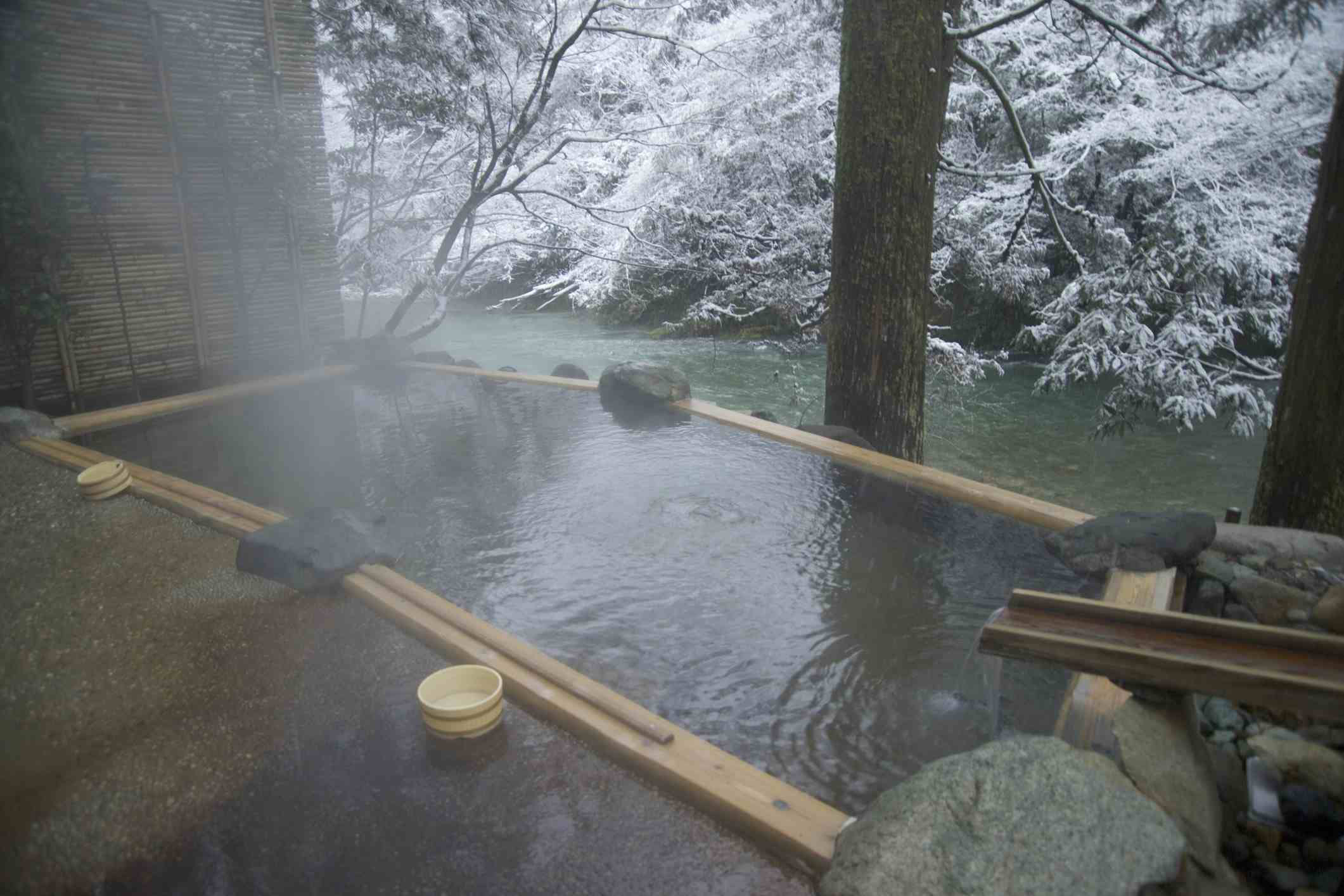 Hot springs, Yamanaka, Ishikawa, Japan