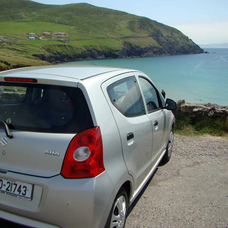 Administre cuidadosamente el alquiler de autos en Irlanda