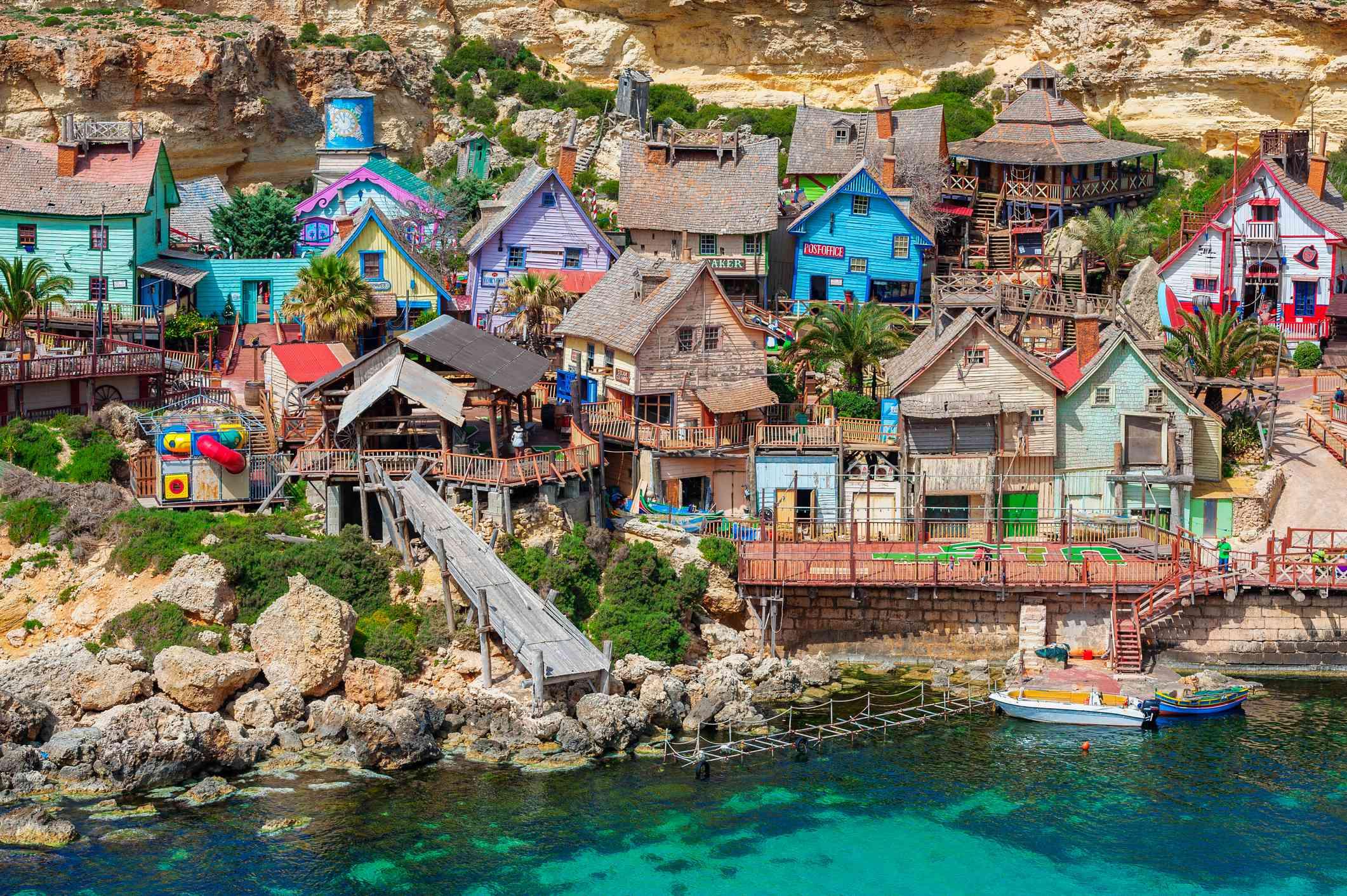 Popeye Village theme park, Malta