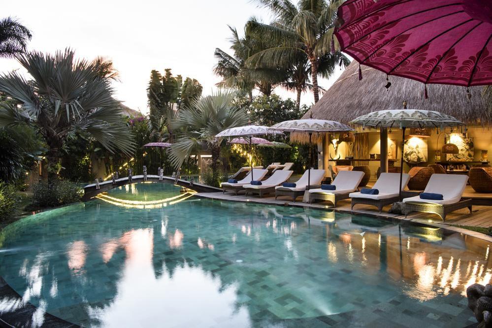 The pool at Blue Karma Hotel Seminyak
