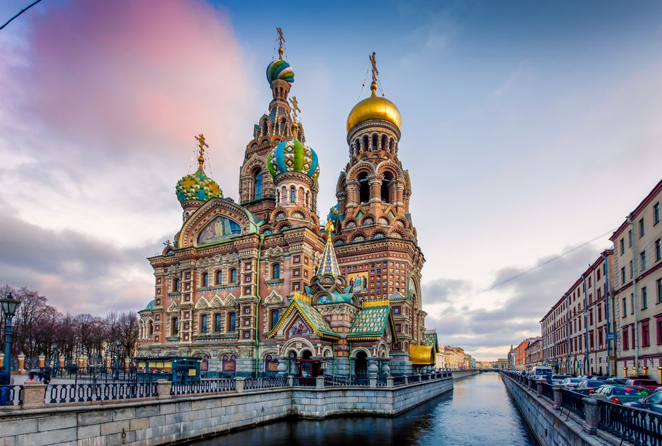 The Church of the Savior on Spilled Blood in St. Petersburg.