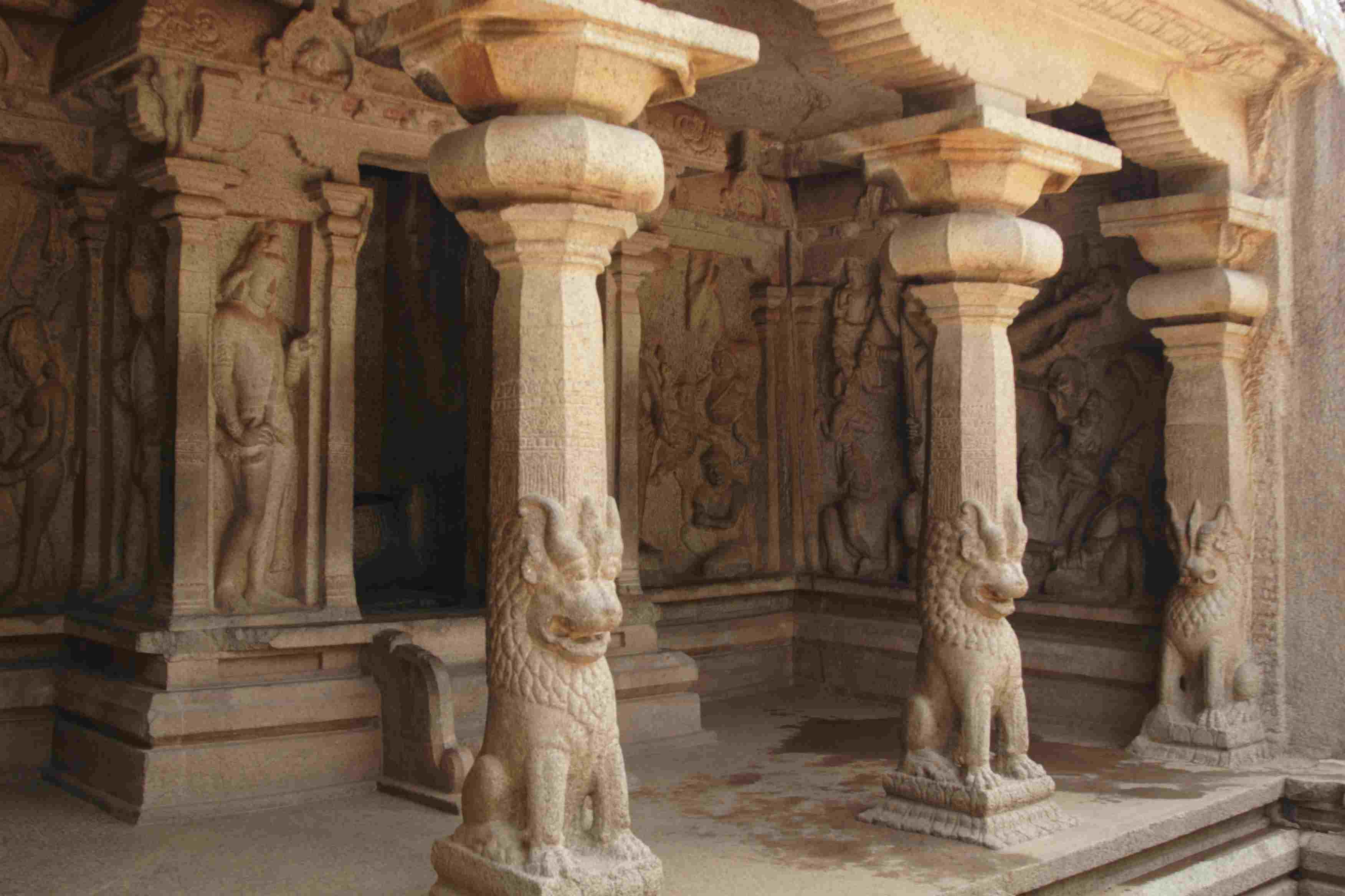 Varaha or Vishnu Cave Temple at Mahabalipuram