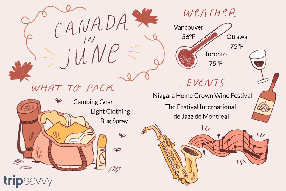 Canada In June Weather And Event Guide