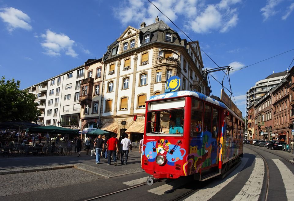 Ebbelwei Express tram in Frankfurt