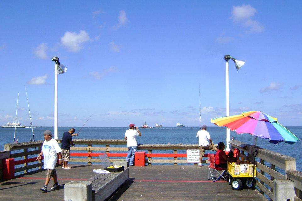 Fishing Pier, Seawolf Park, Galveston, Texas 0808101612