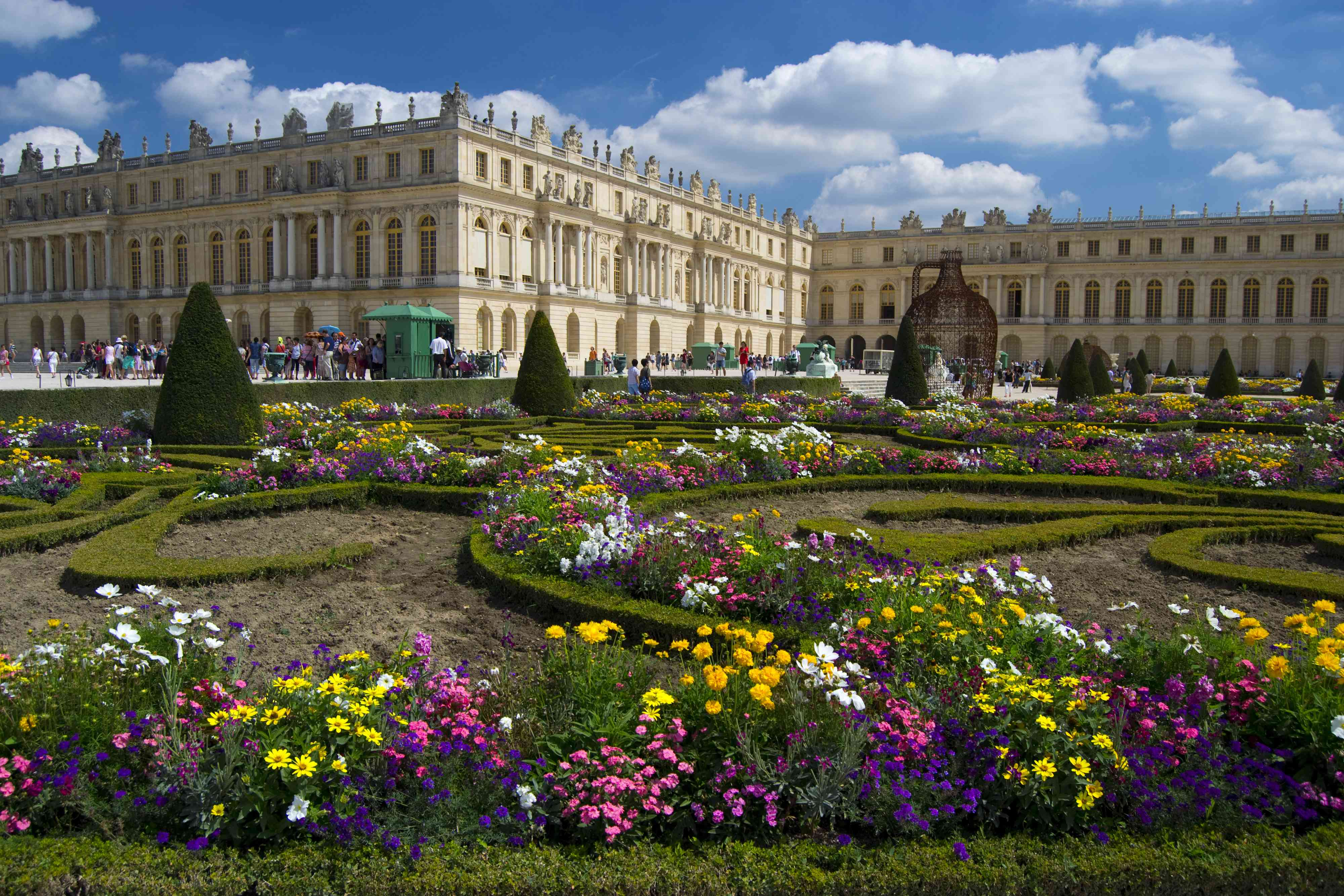 The Palace and Gardens at Versailles, France