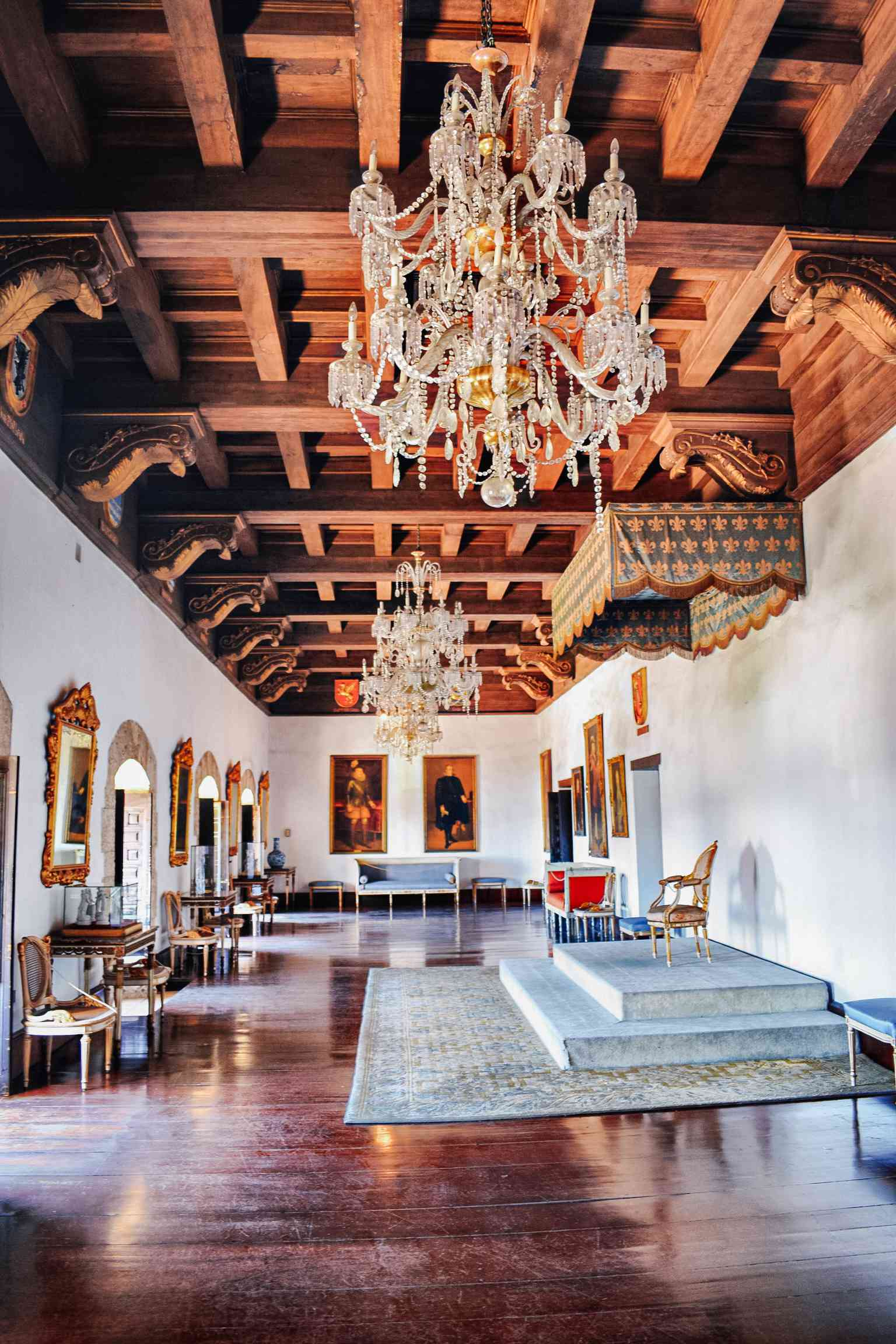Inside the Casa Reales