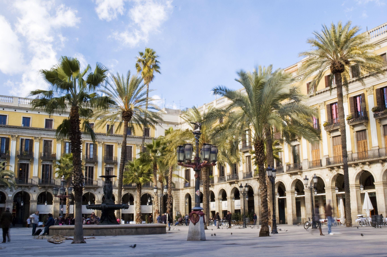Placa Real, Barcelona