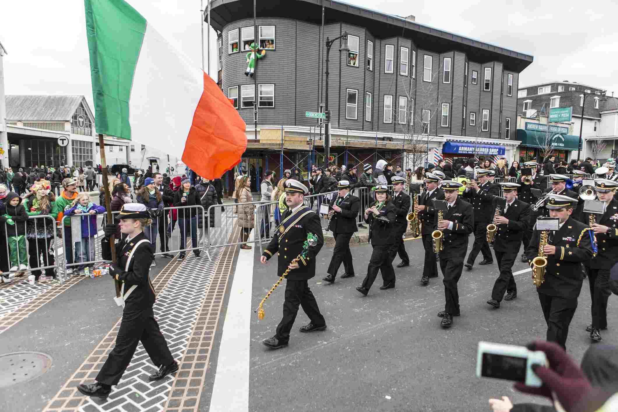 St. Patrick's Day Parade at South Boston