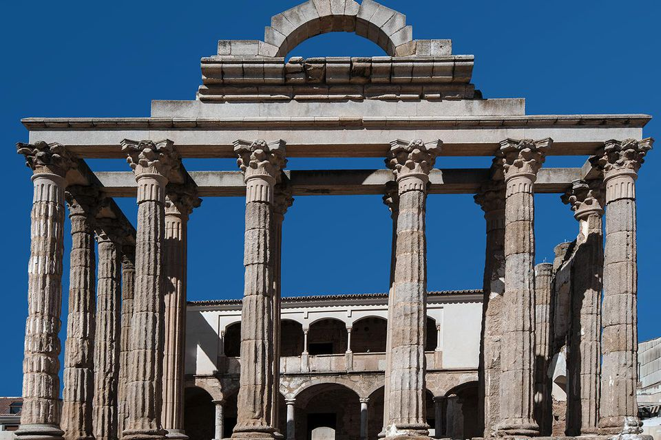 Roman Temple to Diana, MArida, Spain