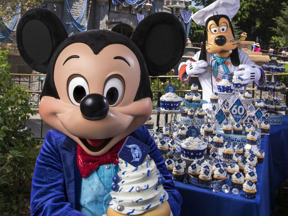 Disneyland Diamond Celebration 2015
