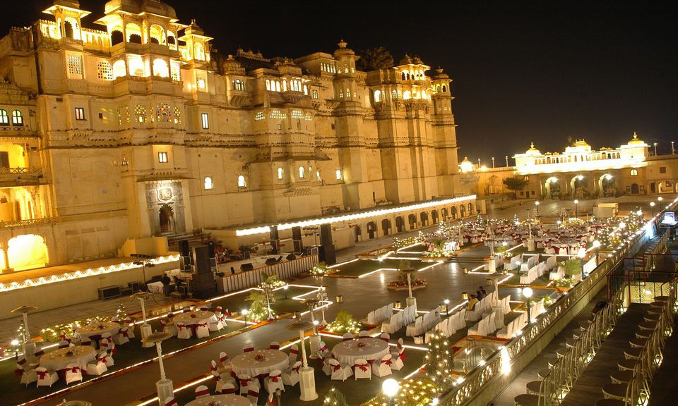 5 Regal Udaipur Palace Wedding Venues