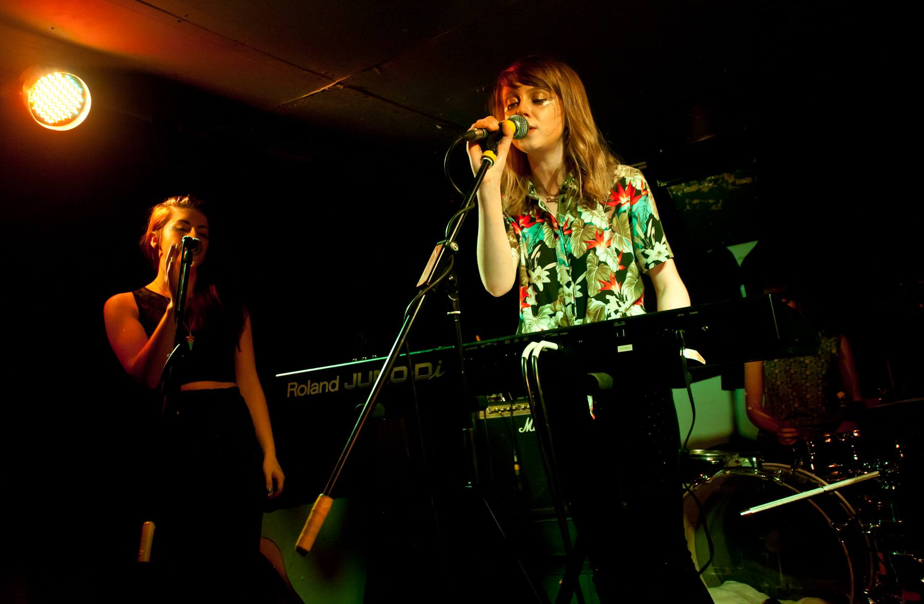 TeenCanteen performing at Henry's Cellar Bar in Edinburgh