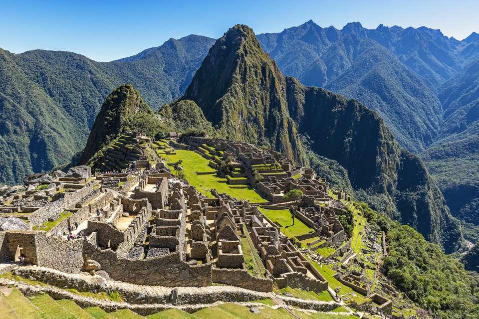 Machu Picchu Inca Ruins, Peru