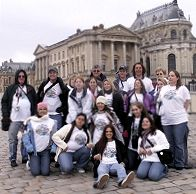 Students on EF Tour in Versailles picture