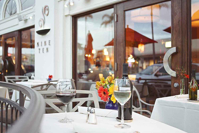 Nine Ten Restaurant in Downtown La Jolla