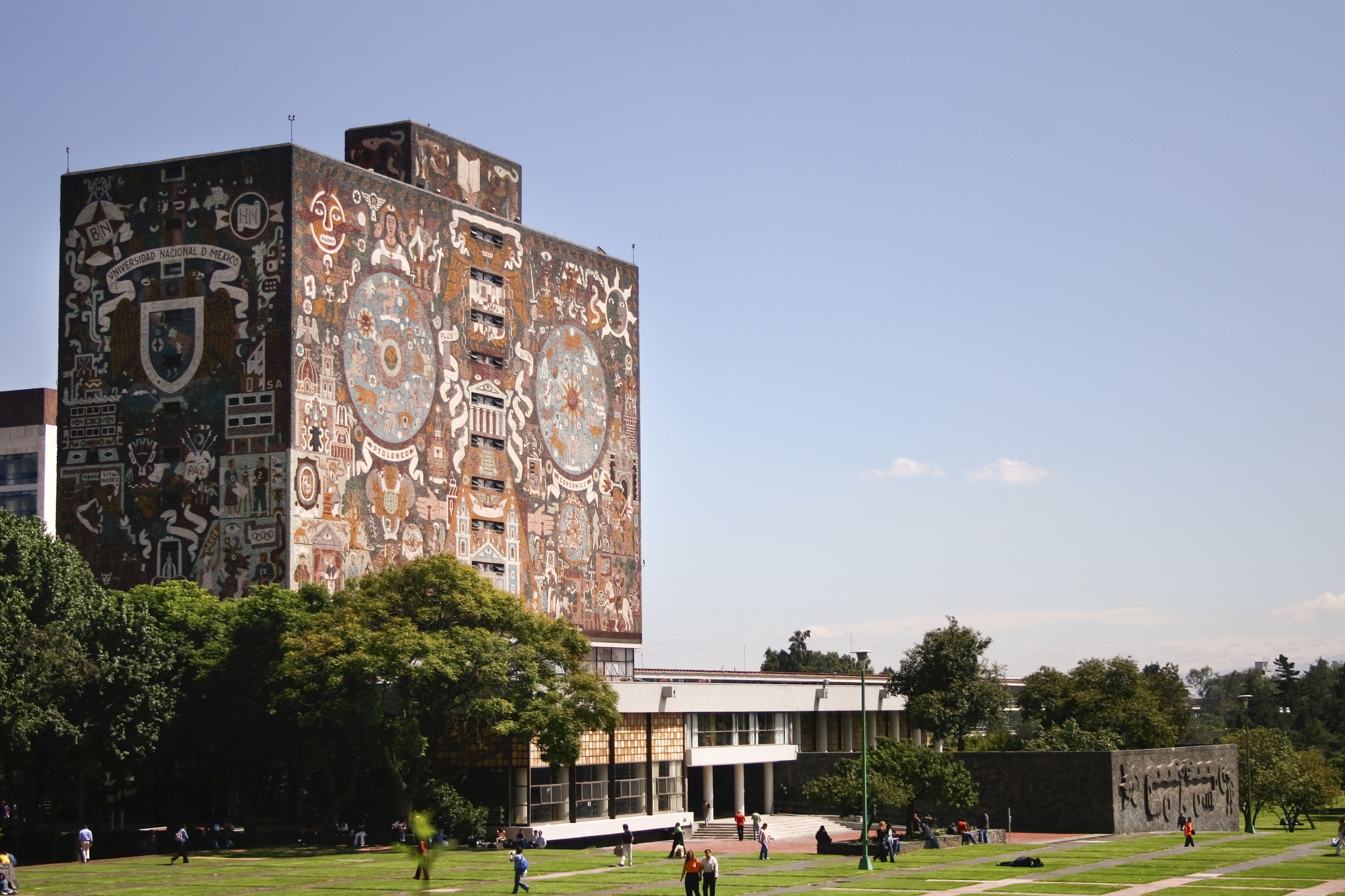 National City Auto Center >> Mexico City's UNAM University Campus
