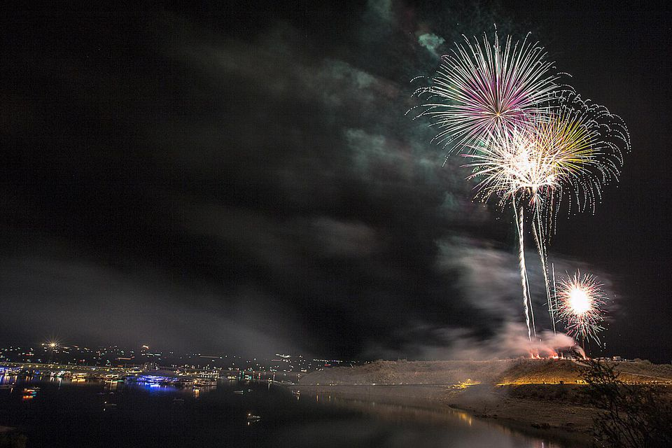 Independence Day Fireworks at Lake Pleasant