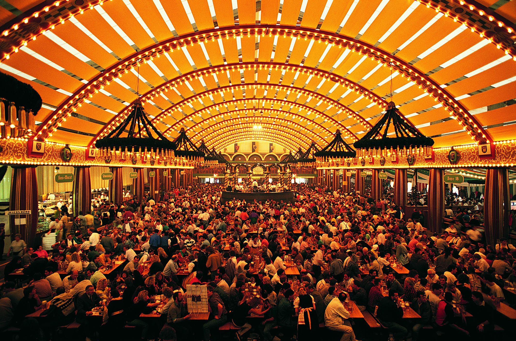 Oktoberfest celebration in Munich.