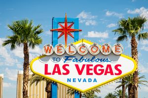 """Sign reading """"Welcome to Fabulous Las Vegas, Nevada"""""""