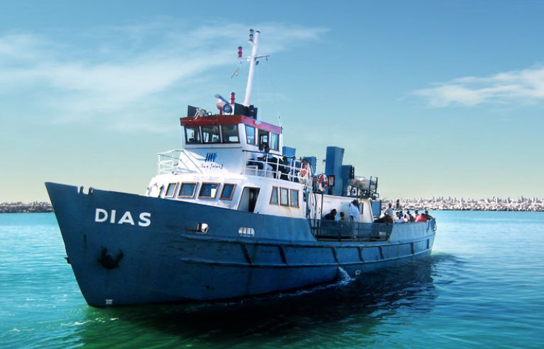 Ferry Ride to Robben Island