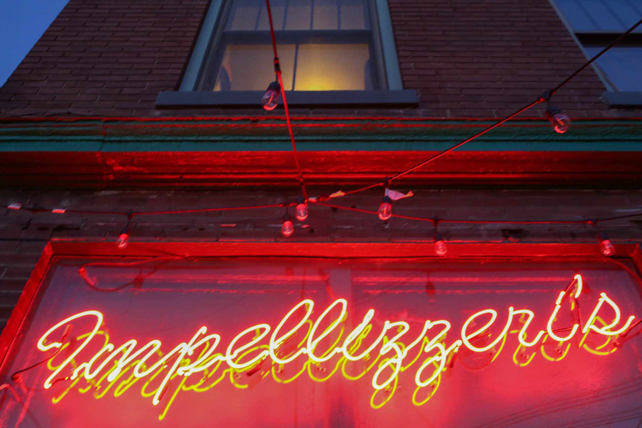The Neon Sign At Impellizzeri S Pizza In Louisville Kentucky