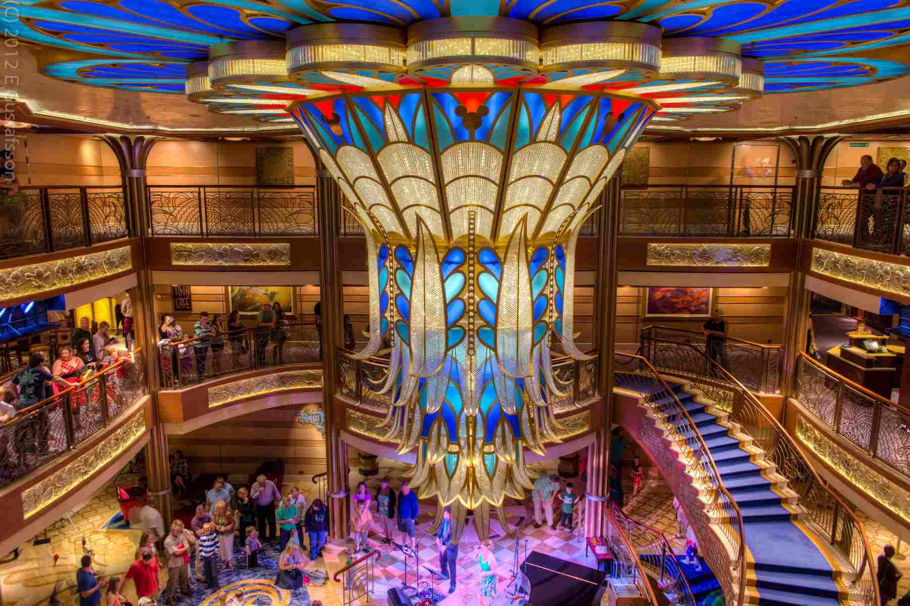Disney Dream Cruise Ship Atrium