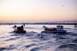 Ponte della Liberta in Venice