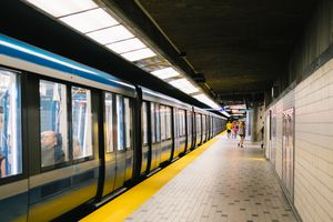 Champs-De-Mars metro stations, Montreal, Quebec, Canada