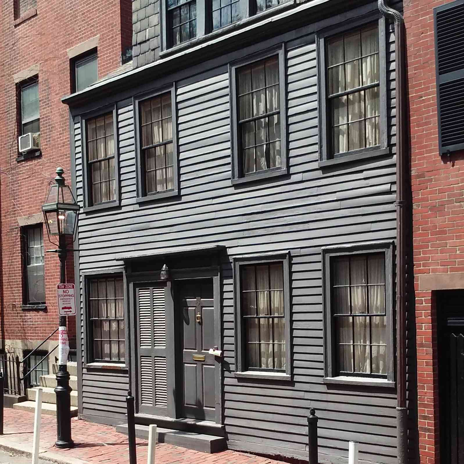 George Middleton House (private residence not open for tours) in Boston on the Black Heritage Trail
