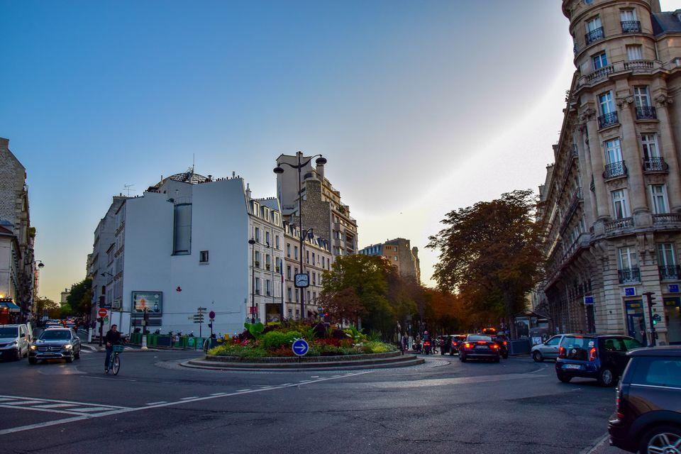 Passy Neighborhood in Paris, France